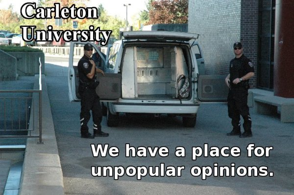 Carleton University: We Have a Place for Unpopular Opinions